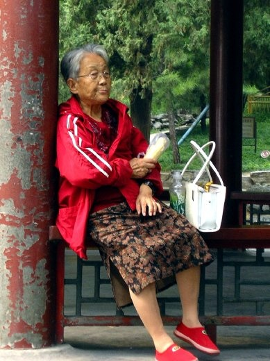 Time for a rest, Summer Palace