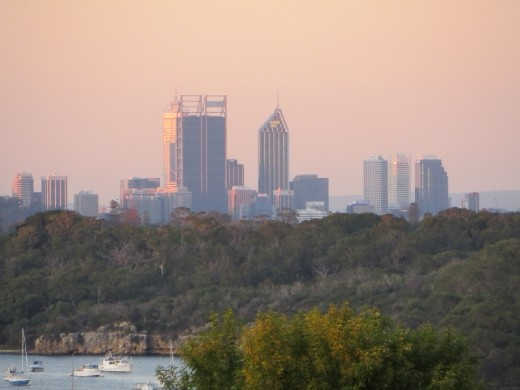 View of Perth from Fremantle