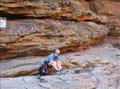 Susan making adjustments, Kings Canyon: by johnsteel, Views[204]