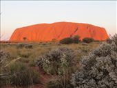 Uluru at sunset: by johnsteel, Views[316]