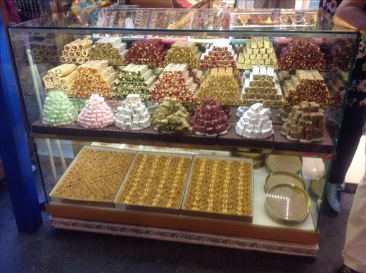 Turkish delight, Egyptian Bazaar, Istanbul