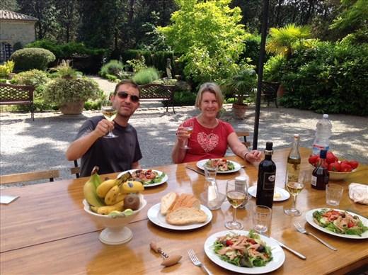 Lunch at Villa Lemura