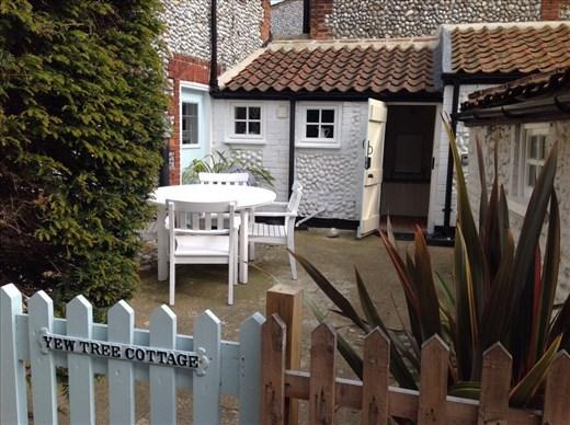 Our tiny cottage, Blakeney