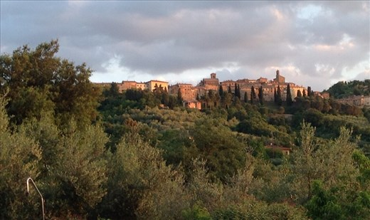 Hilltop town, Panicale Umbria, Italy