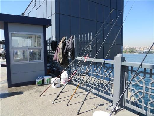 Fishing Rods, Galata Bridge Istanbul