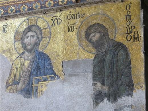 Icons Aga Sophia Istanbul