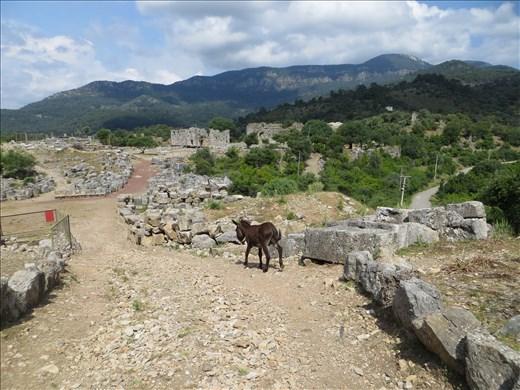 Ancient site of Kaunos Turkey