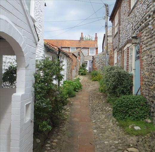 Cottages in Blakeney, Norfolk