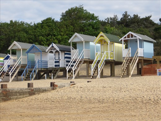 Beach huts Wells By the Sea