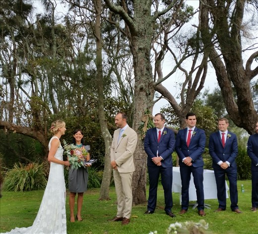The wedding at Mollymook