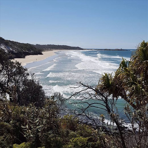 Beach near Yamba