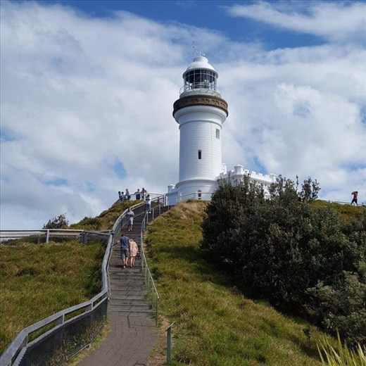 Byron Bay Lighthouse, the most easterly point of Australia.