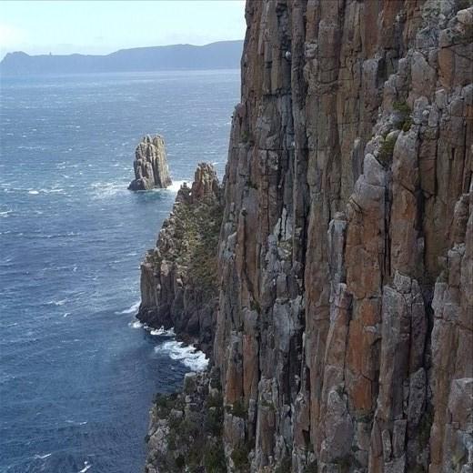 Dolorite cliffs, Cape Hauy