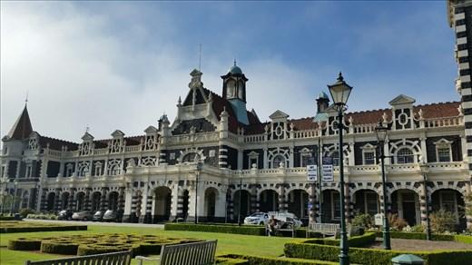 Old railway station Dunedin
