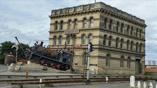 Steampunk museum Oamaru