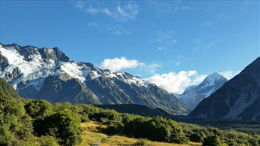 Mountains near Mt Cook