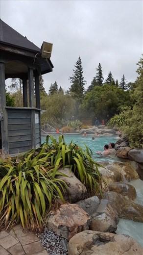 Thermal pools in Hamner Springs