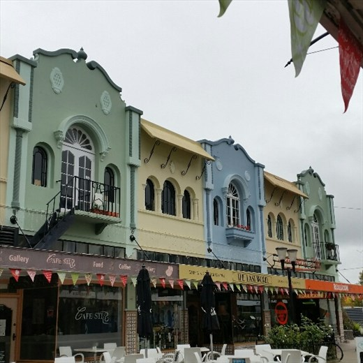 Old shops Christchurch