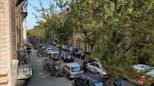 De Pijp street