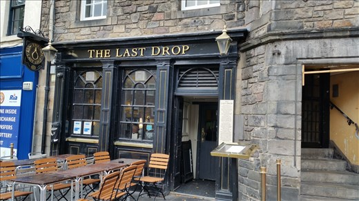 The Last Drop - before hanging in Edinburgh