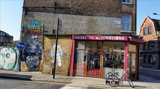 Stoke Newington shops