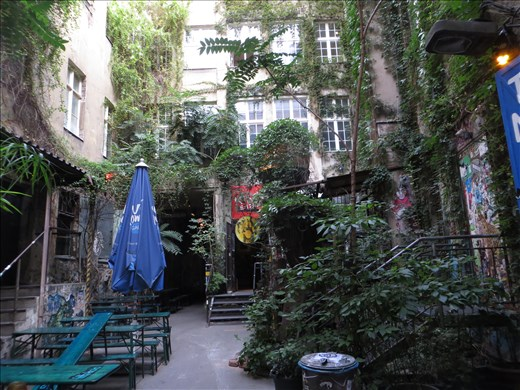 Berlin courtyard