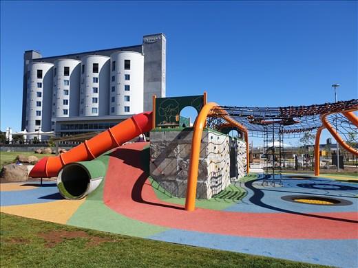 Silo Hotel, Riverbend Playground -  Launceston