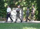 again, militry walking around with automatic guns: by jolinklater, Views[164]