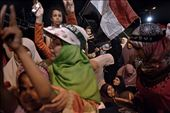 7 August 2013. Supporters of Egypt's deposed president Mohamed Morsi outside Rab: by jonathanrashad, Views[117]