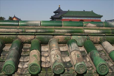 A view from the Temple of Heaven