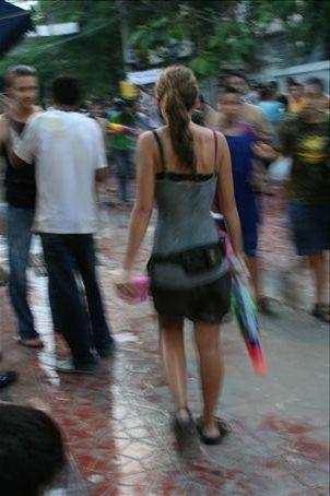 Songkran in Bankok its an amazing breastival