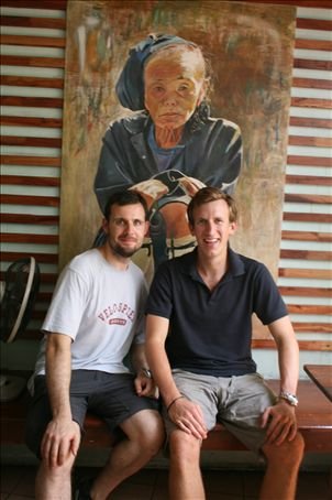 The two Jonnies in Bankok