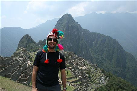 My Inca cap went down a treat at Machu Pichu