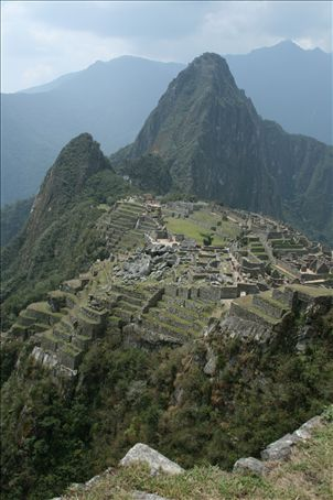 Is this the lost city of the Incas?  Hiram Bingham believed so when he discovered Machu Pichu in 1911.