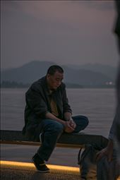 I cannot imagine why this man would look this sad. I really like this photo.: by jonzerger, Views[156]