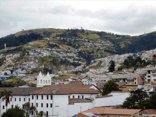 View from Quito Cathedral.