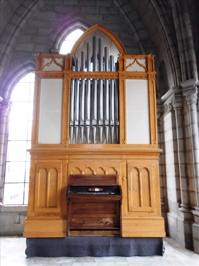 The (no longer working) organ inside Quito Cathedral.