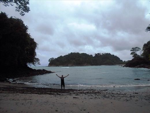 Jorje on Manuel Antonio beach.