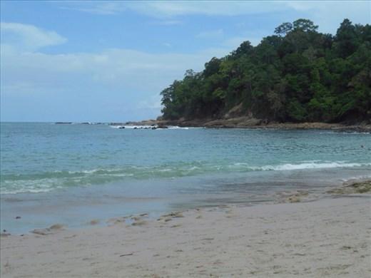 Manuel Antonio beach.