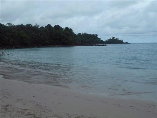 Manuel Antonio beach, very calm, warm and clear water.