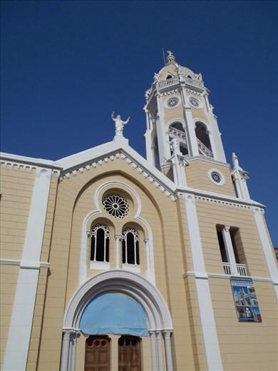 Casco Viejo (Panama old town). San Fransisco church.