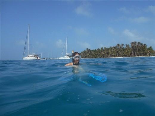 Juanita Snorkelling