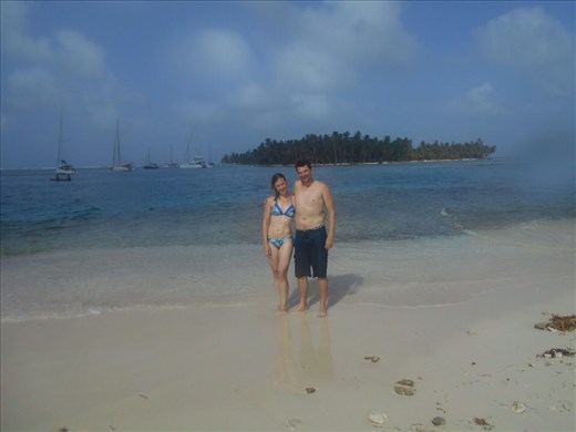 Jorje y Juanita. Our own private island
