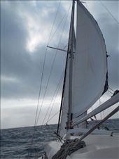 The Amande under sail.: by jorjejuanita, Views[136]