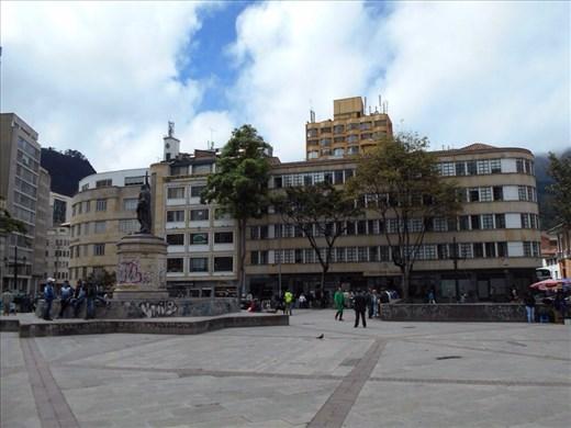Bogota city.