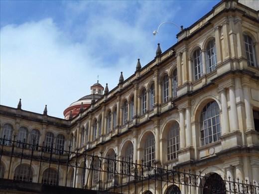 Sightseeing the plazas of Bogota.