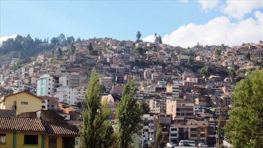 Cusco city.