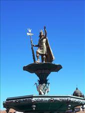 Fountain-monument to Inca Pachacutec.: by jorjejuanita, Views[87]