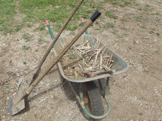 bamboo shavings