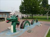 me and the loch ness type monster in kelowna: by josh_shona, Views[260]